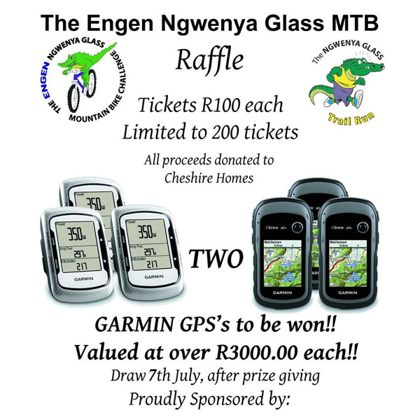 Your chance to win a Garmin GPS valued at over R3000.00 each!!